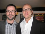 Licensed Master Trainer of NLP, Marc Innegraeve, met Paul McKenna, auteur en wereldauthoriteit in hypnose en coaching
